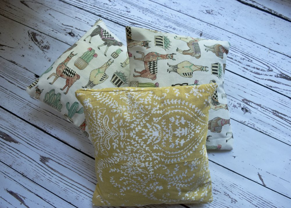 Pillows from Clothes Horse Clothing Etsy Shop
