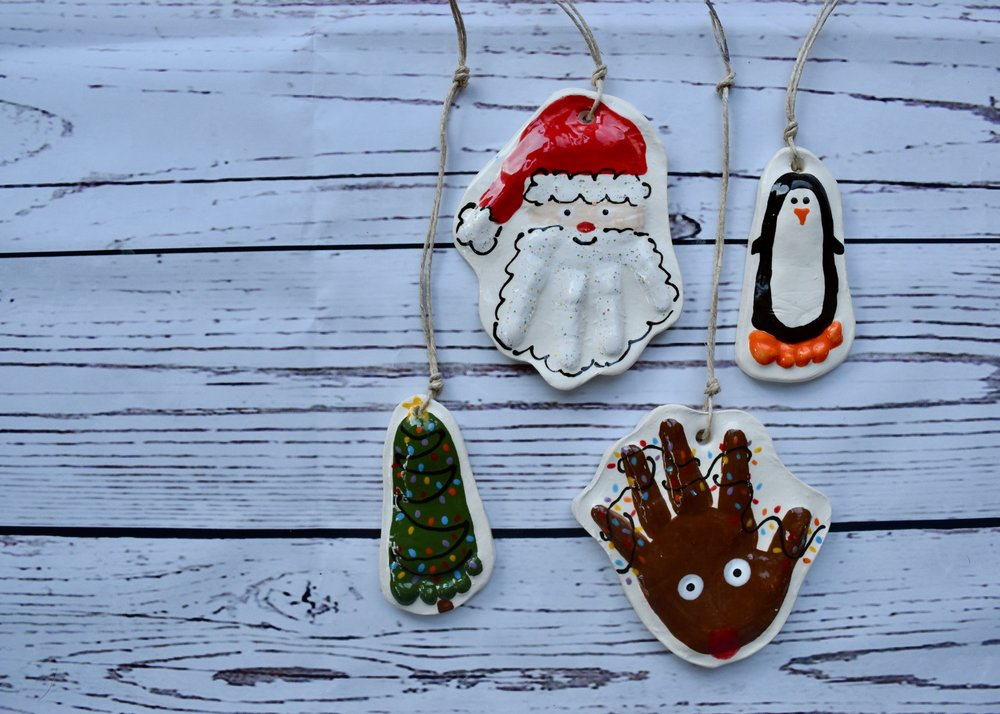 Christmas Hand and Foot Prints on Etsy