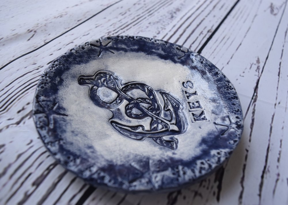 Anchor Design Keys Plate