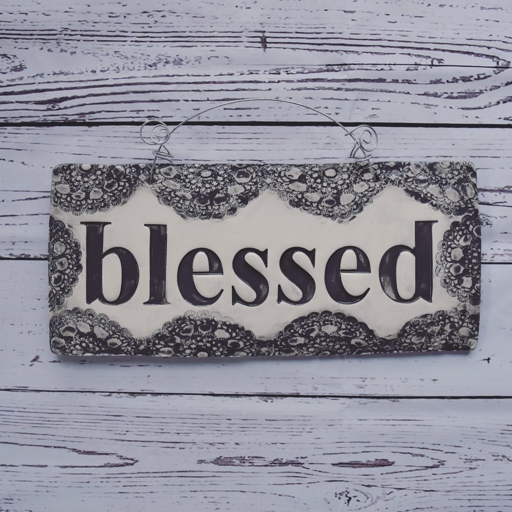 Blessed Wall Sign