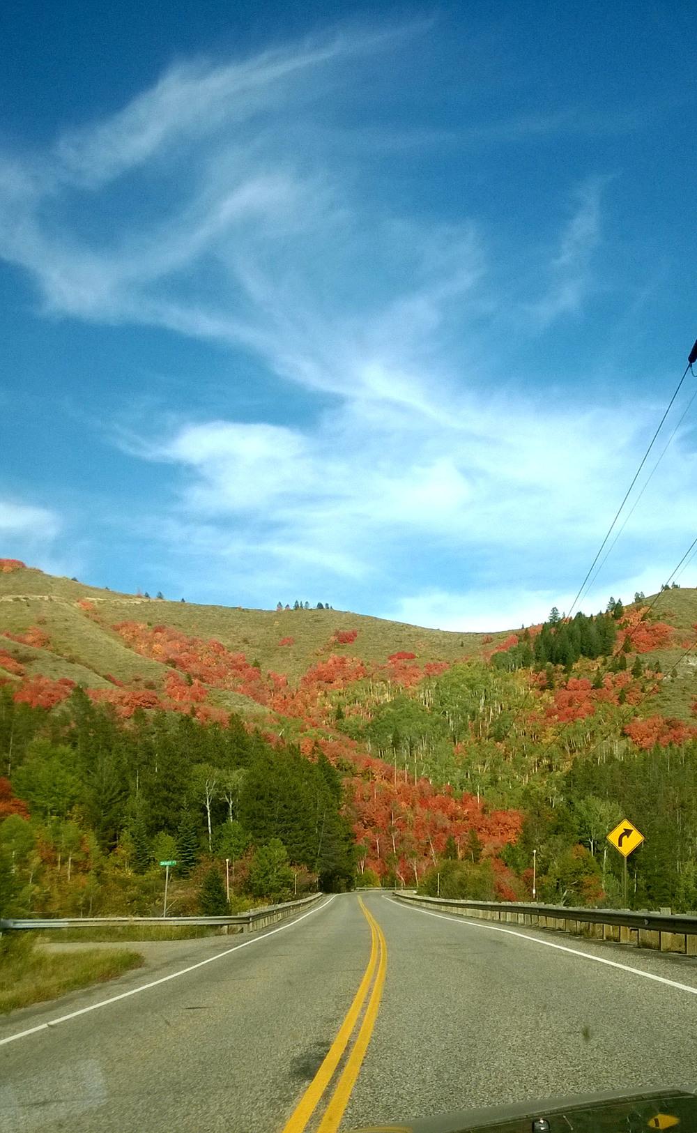 Winding through Idaho
