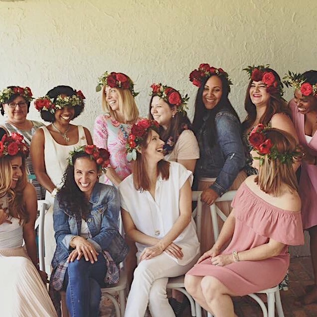 Missing all my @tuesdaystogetherftl Galentines and the fun we had at last year's floral crown class!!! ❤️ Happy Galentine's Day loves!!! ❤️ Take some time to cherish your girlfriends today! . . . . . . #galentinesday #valentinesday #floralcrown #friendshipforever #friendship #girlfriends #girlboss #thehappynow #ilovethem #ladieswithoutlimits #flowerfriends #heart❤️ #lovefromafar
