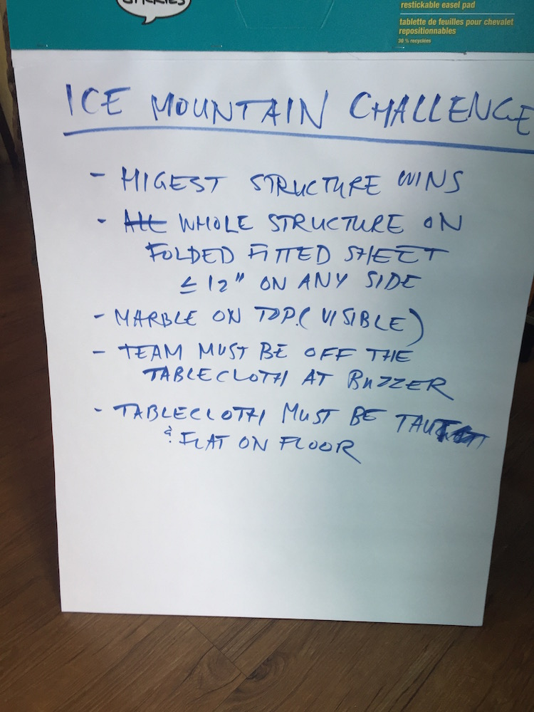 Ice Mountain Challenge