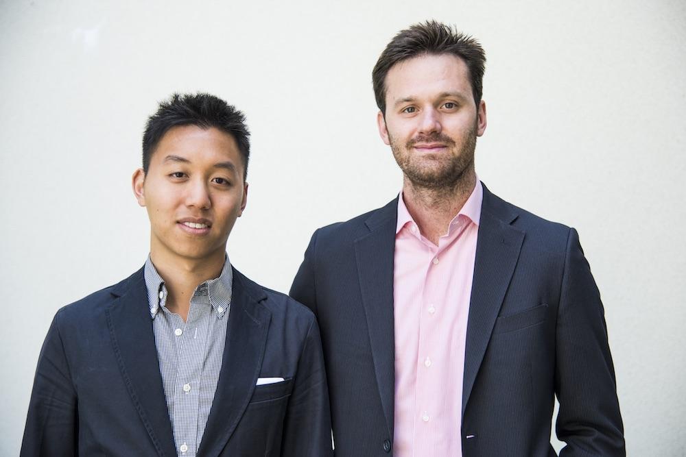 Cuberg co-founders Richard Wang and Mauro Pasta