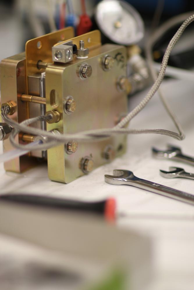 Opus 12's prototype reactor in their lab