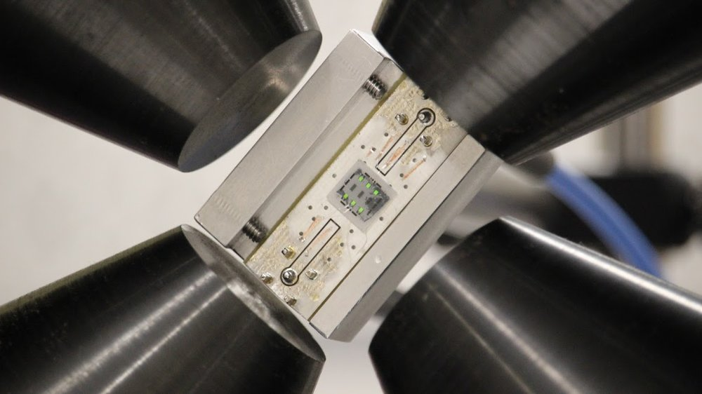 Sonera Magnetics' prototype magnetometer