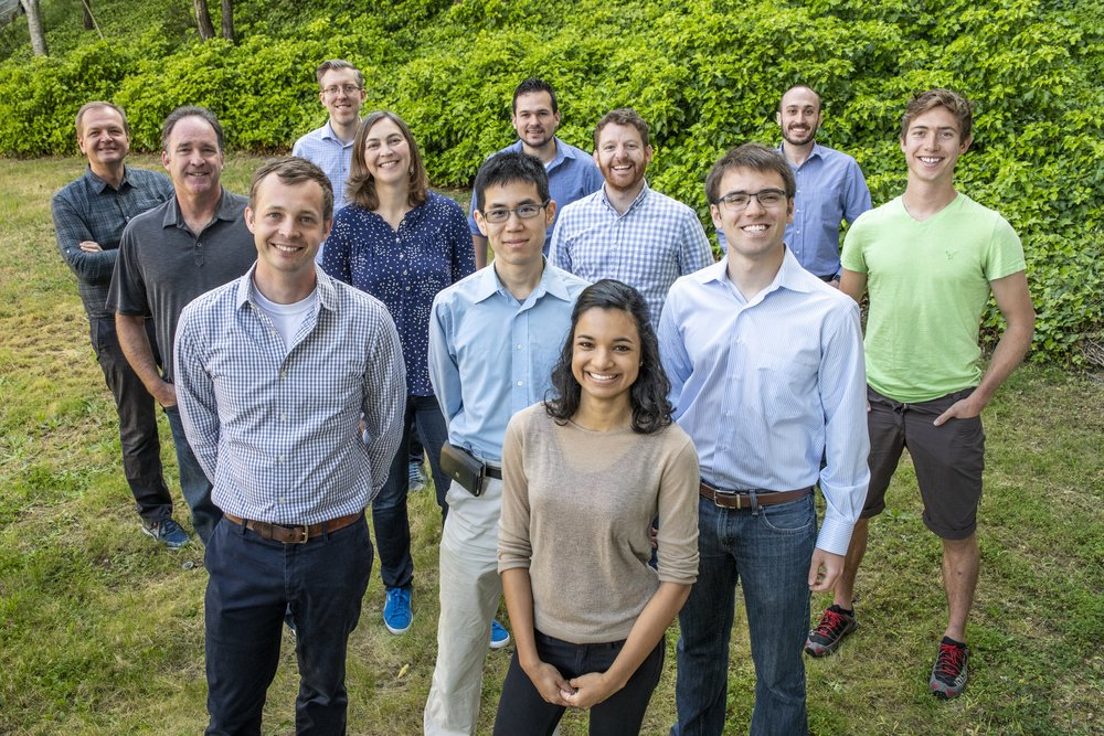 Cyclotron Road Cohort Four (left to right, starting with back row): Alexei Marchenkov, Christopher Graves, Miguel Sierra Aznar, Erkan Aktakka, Steve Yannone, Jill Fuss, Tim Latimer, Justin Briggs, Jack Norbeck, Kevin Kung, Andrew Ponec, and Nishita Deka