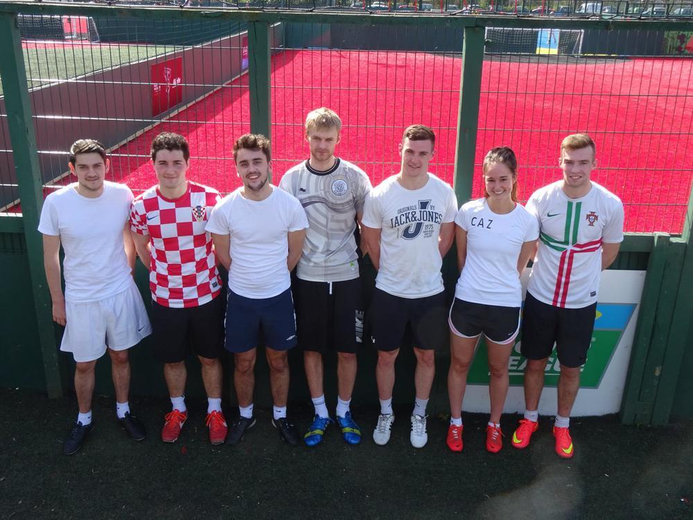 DMEM Team 13, the tournament winners!