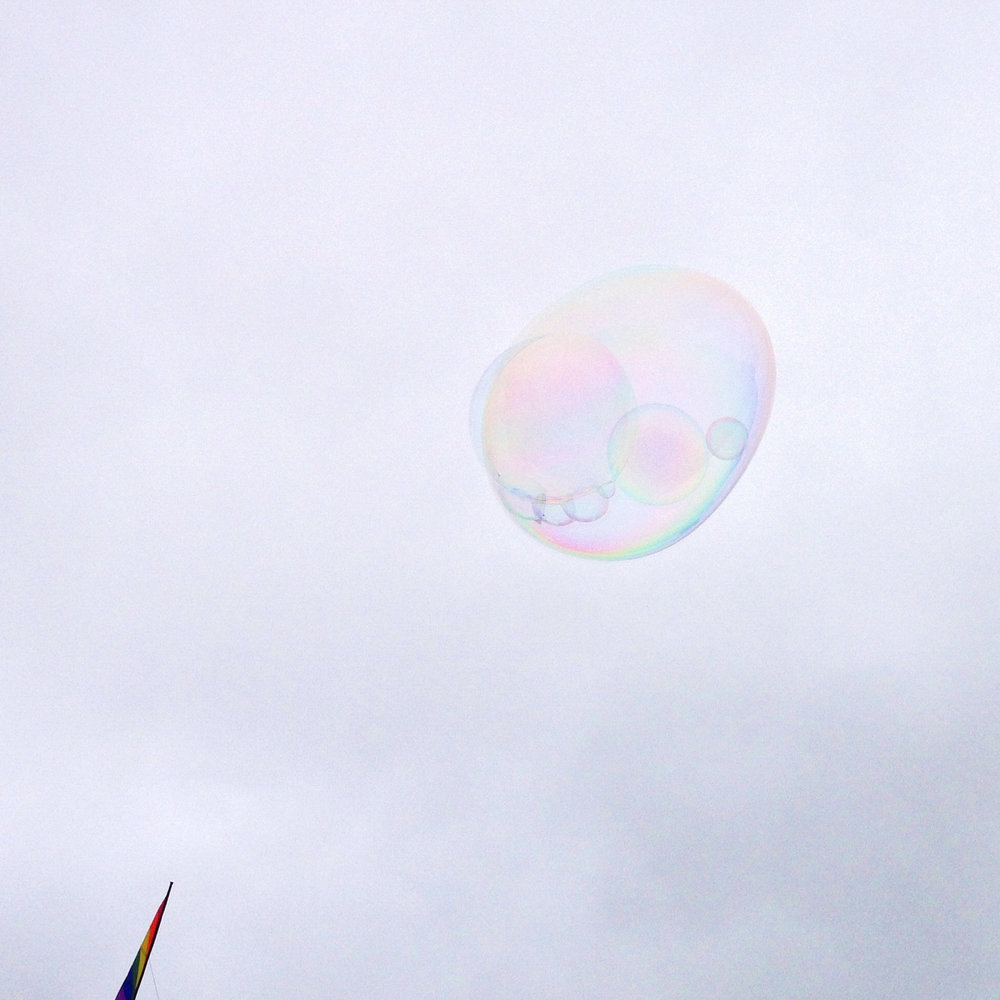 """You will never burst me!"" mocked the bubble with a bit too much sass. 10 Aug 2014"