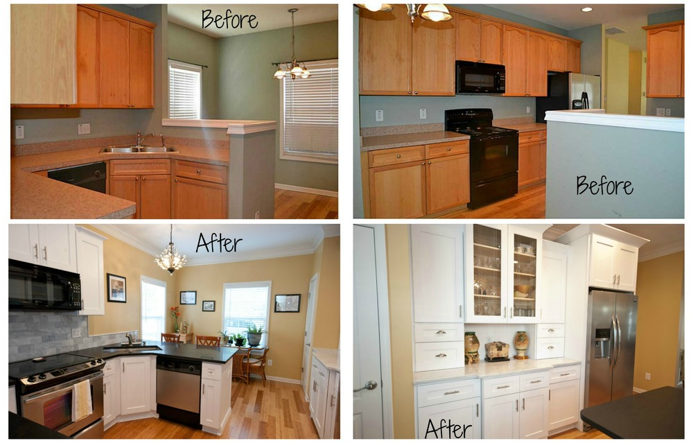 Kitchen reno via Drum Homes