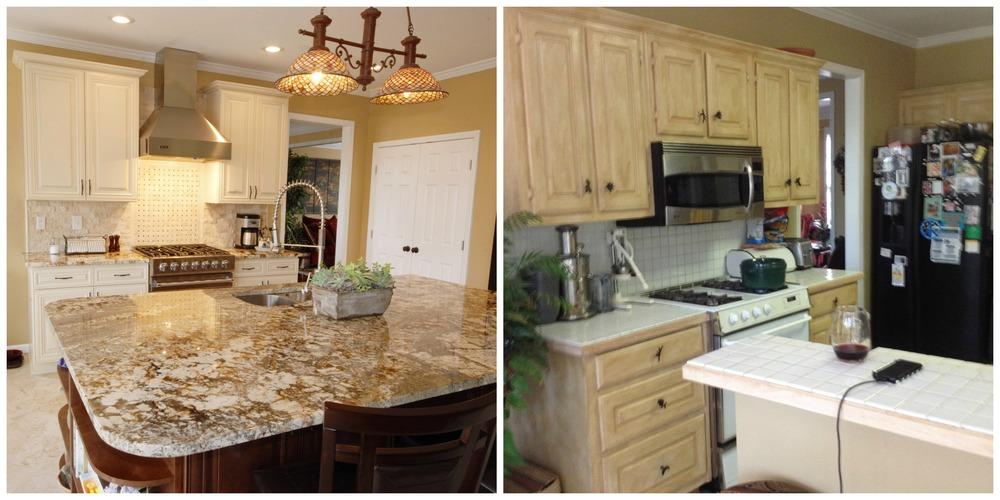 kitchen reno via Drum Homes
