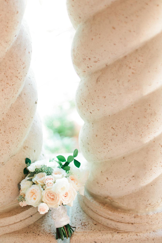 Blush & champagne bouquet TPC Sawgrass Wedding Ponte Vedra Beach