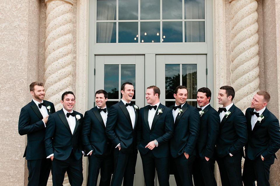 Groom & groomsmen attire at TPC Sawgrass Ponte Vedra Beach