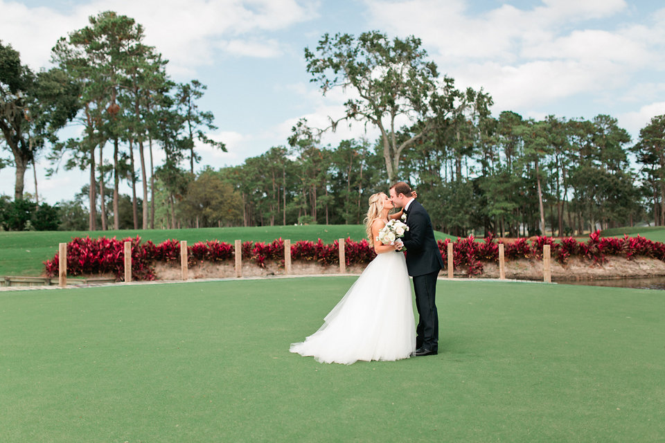 TPC Sawgrass golf course wedding