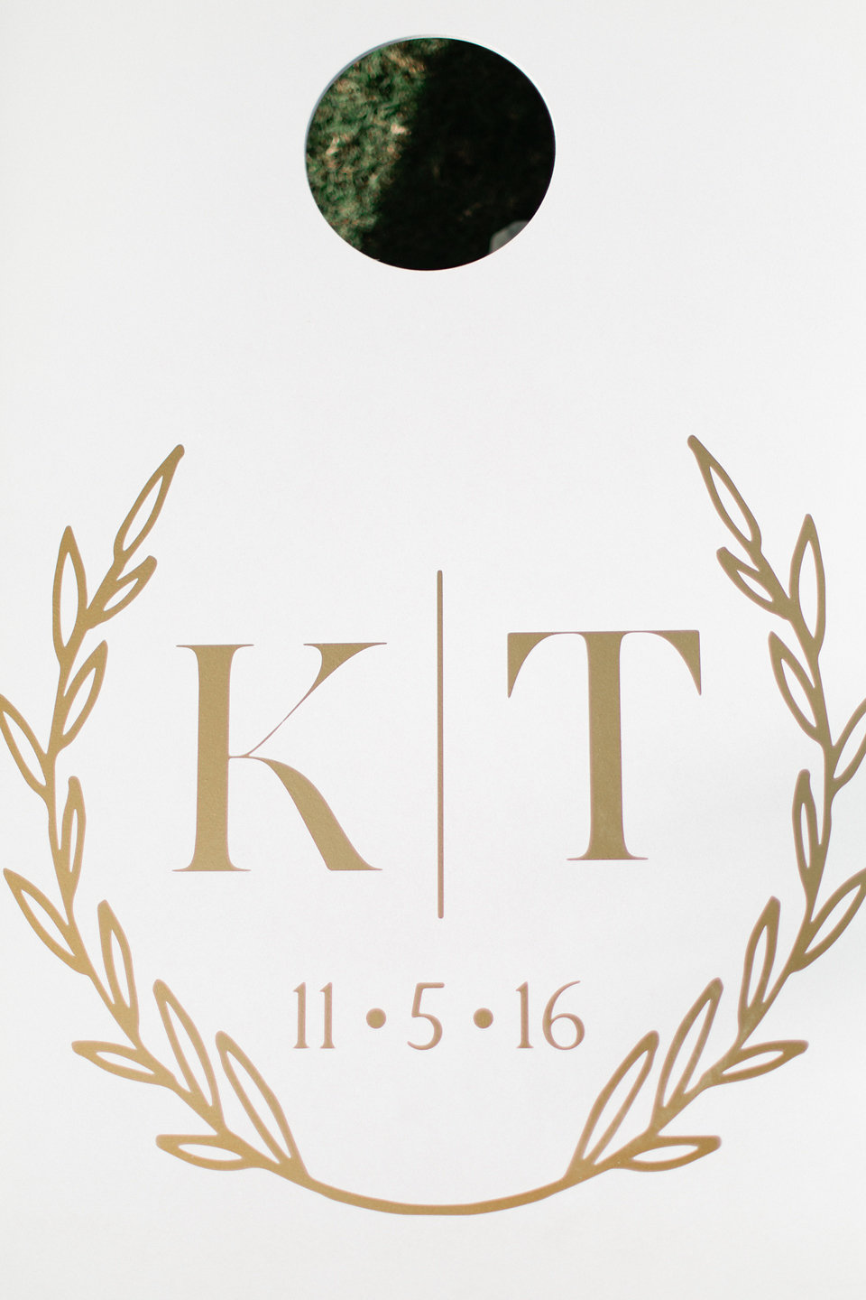 Wedding monogram for Kendall & Tommy
