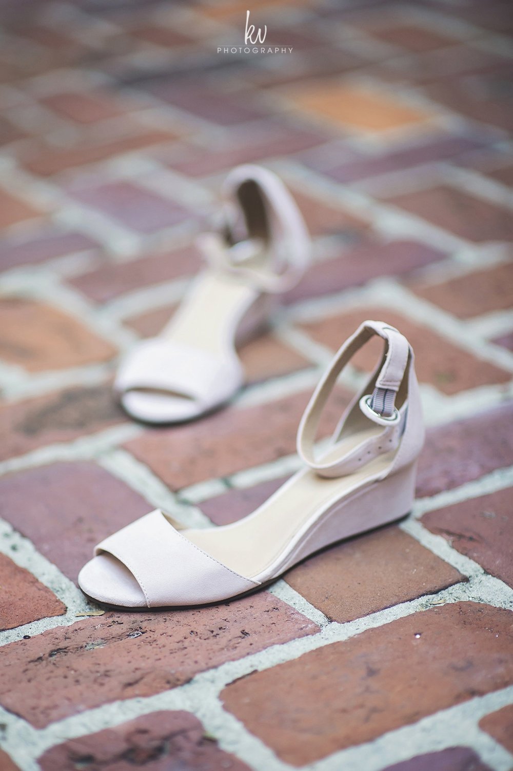 Bridal wedges, Winter Park bride