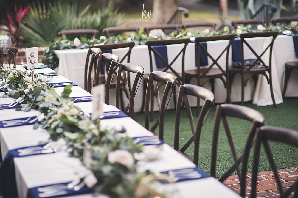 Winter Park Wedding Reception at Casa Feliz