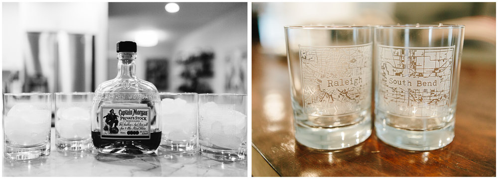 Custom tumblers for the groomsmen