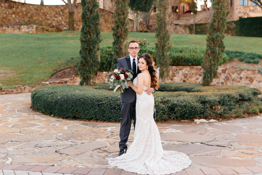 Romantic, Tuscan-themed Wedding