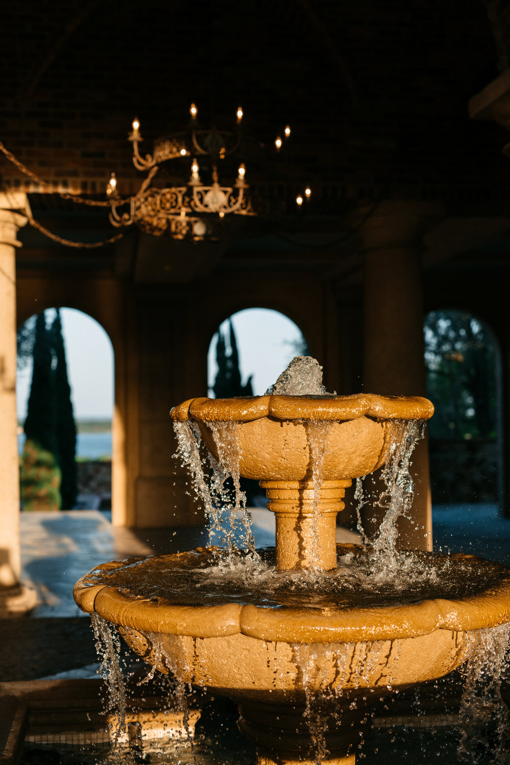 The iconic Bella Collina foundation, Montverde Weddings
