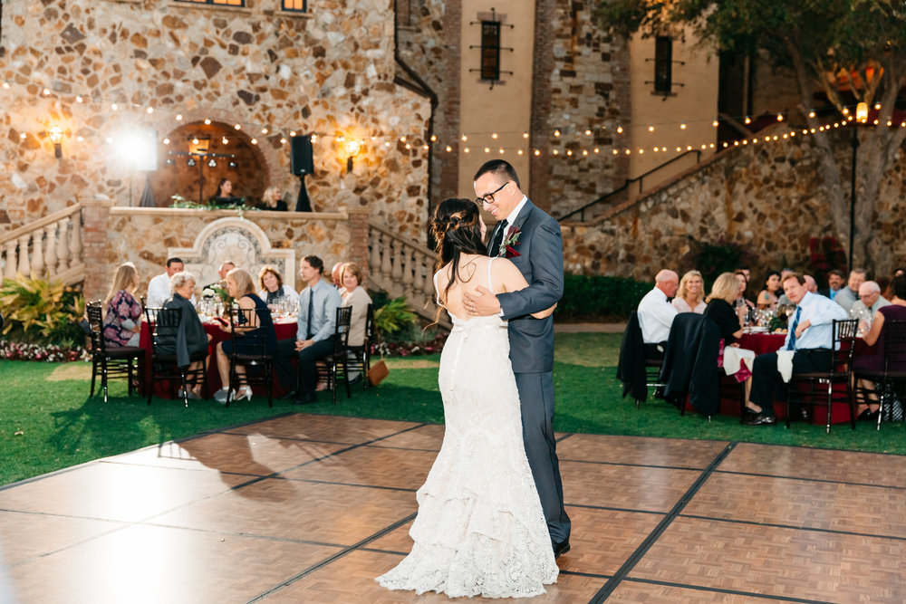Dancing the night away under the stars, Montverde Weddings