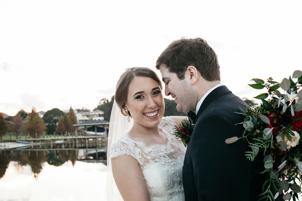 Savannah & Brian, Blue Ribbon Wedding Couples