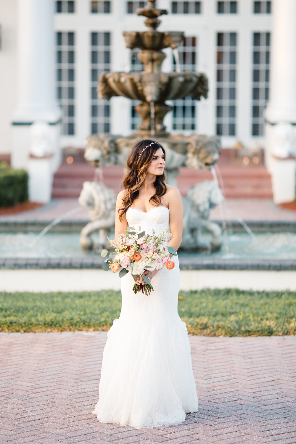 Blush & White Garden wedding at Luxmore Grande Estate in Orlando, Florida  Orlando Wedding Planner Blue Ribbon Weddings  Orlando Bridal Salon The Collection in Winter Park, Florida  Orlando Wedding Photographer JP Pratt Photography  Wedding Ceremony & Reception at Luxmore Grande Estate