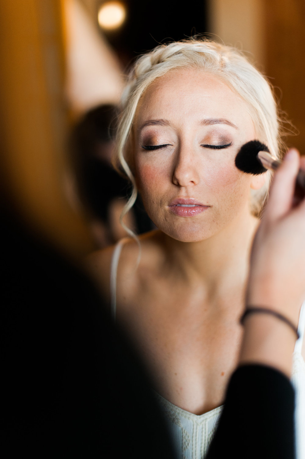 Bridal makeup by Kristy's Artistry Design Team