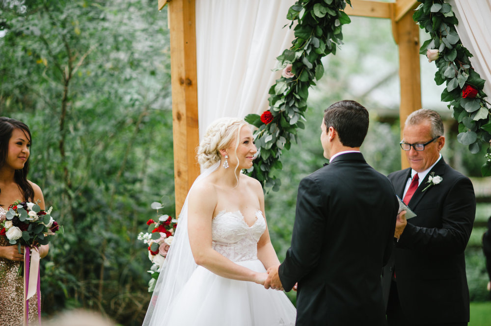 Isola Farms Outdoor Wedding Ceremony