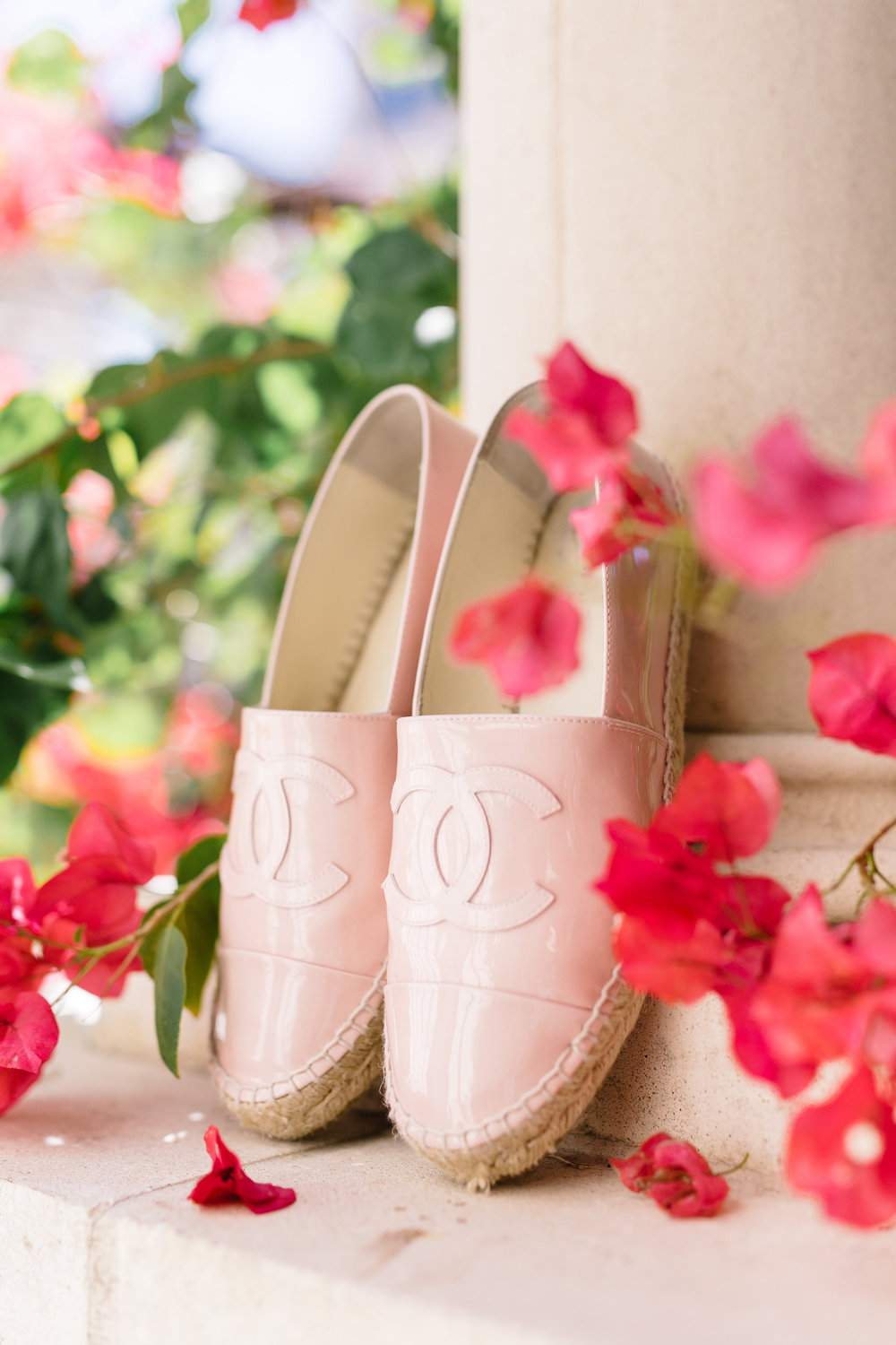 Chanel Slippers, Winter Park wedding details