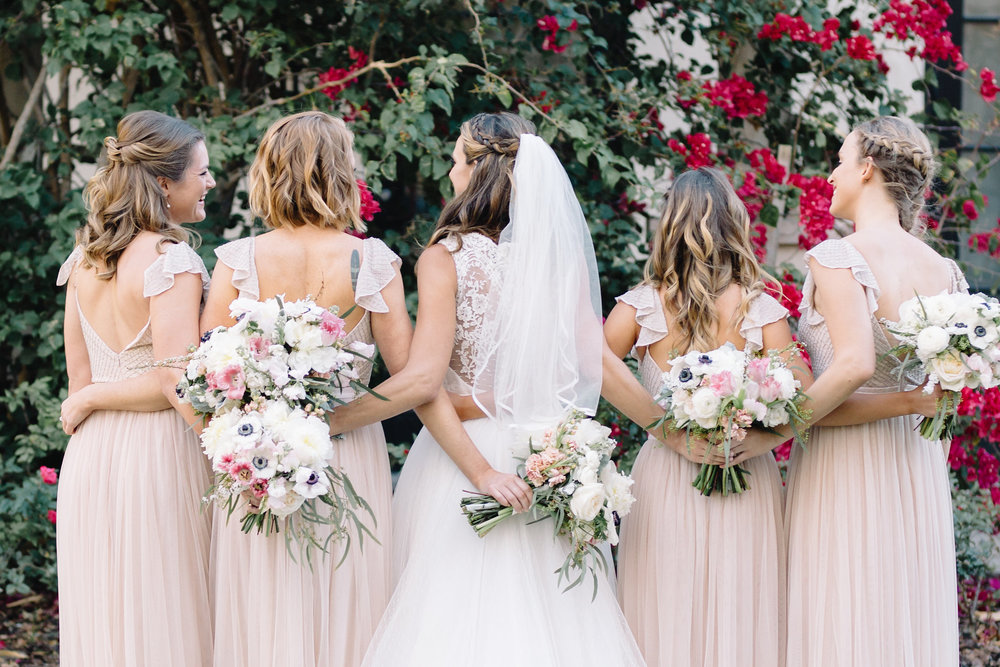 Carson and her bridesmaids, Winter Park Weddings