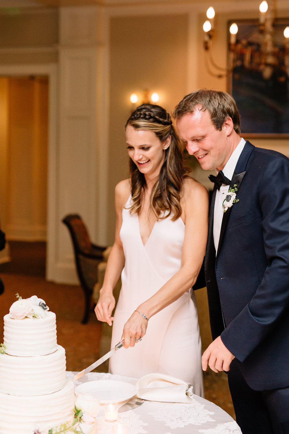Cake Cutting, Winter Park Weddings