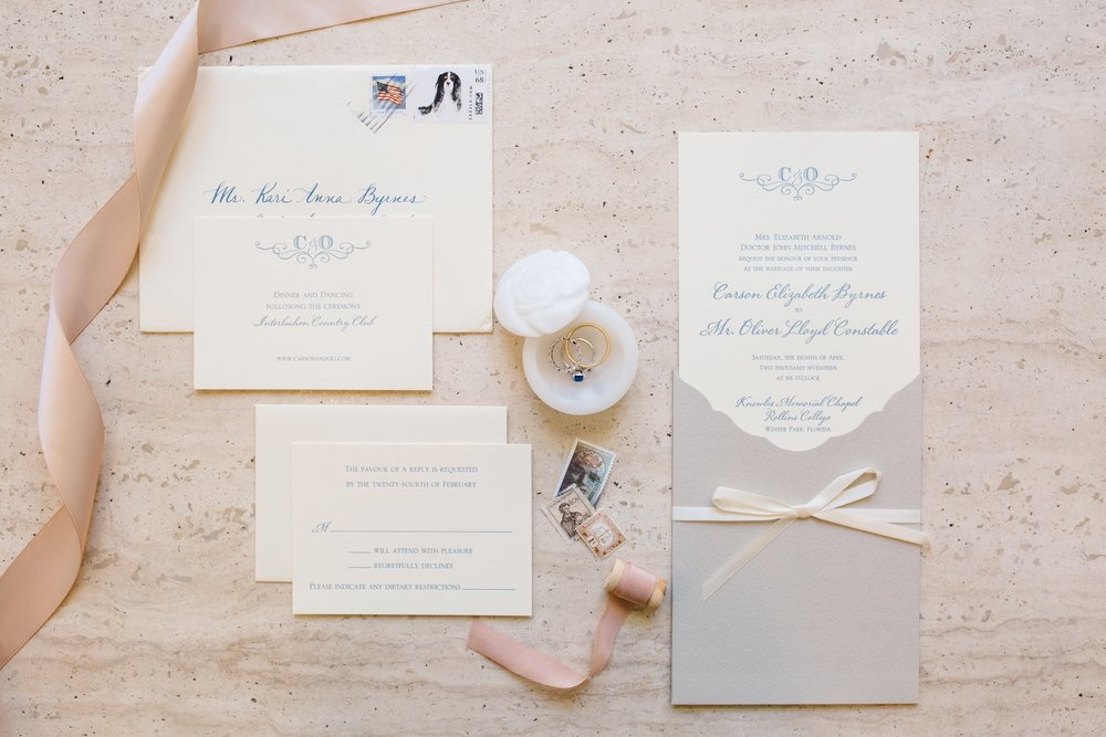 Wedding Invitation Suite by the Paper Shop