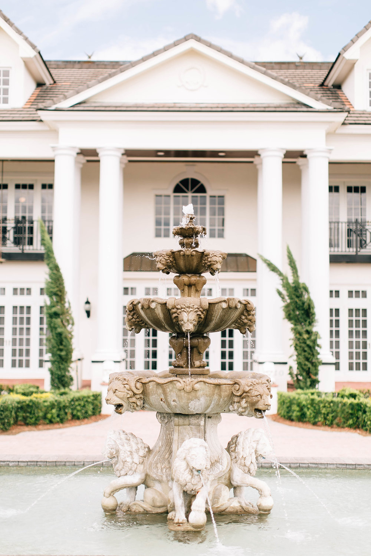 Winter Springs Florida Wedding Luxmore Grande Estate Fountain