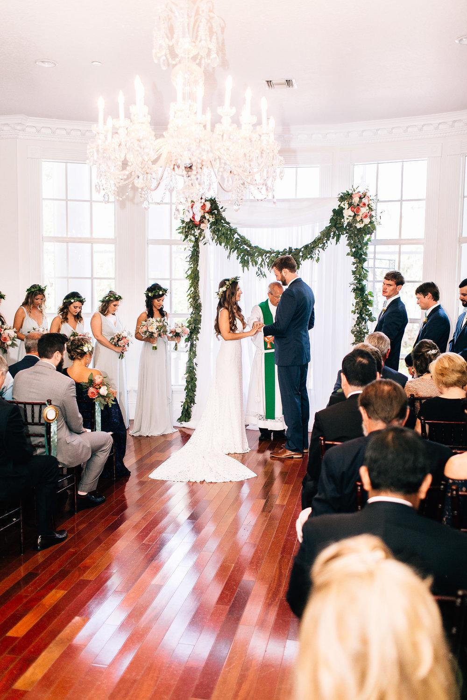Indoor wedding Luxmore Grande, Orlando Wedding Planner Blue Ribbon Weddings