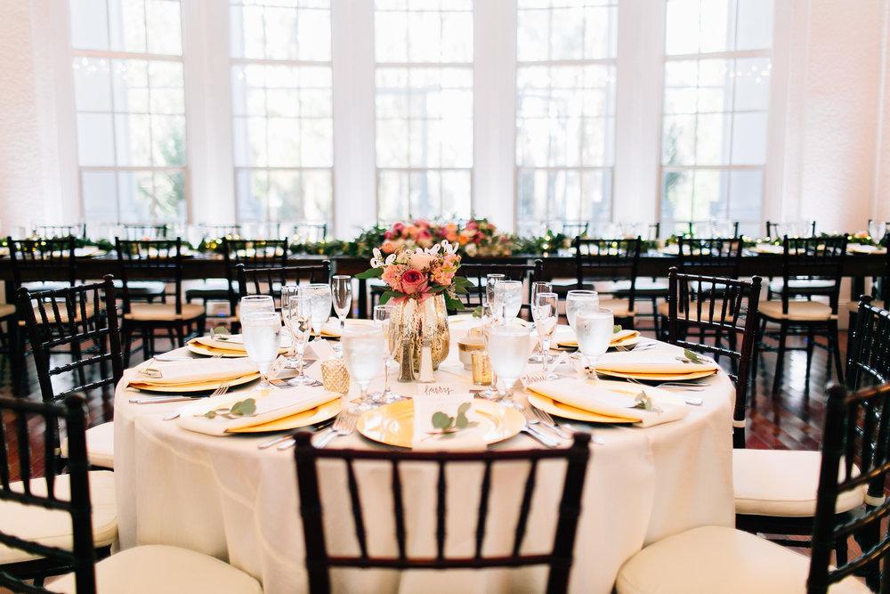 Reception decor at Luxmore Grande Orlando wedding planners