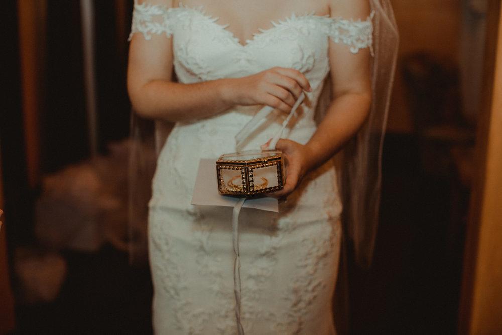 Gold bridal jewelry