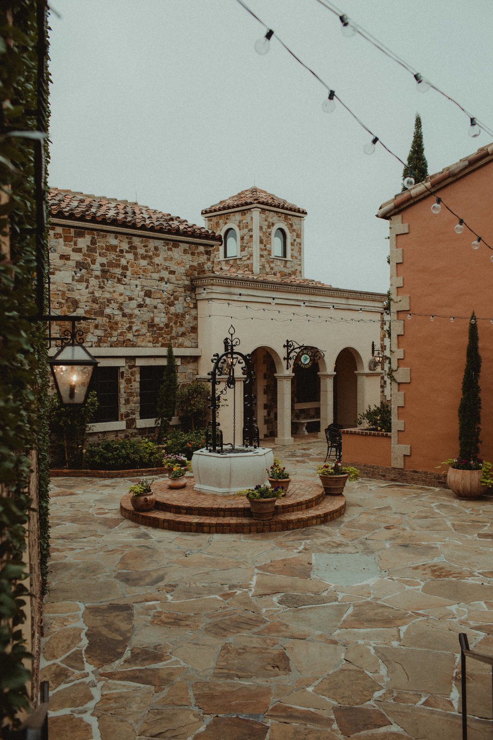 Bella Collina Bell Tower Courtyard
