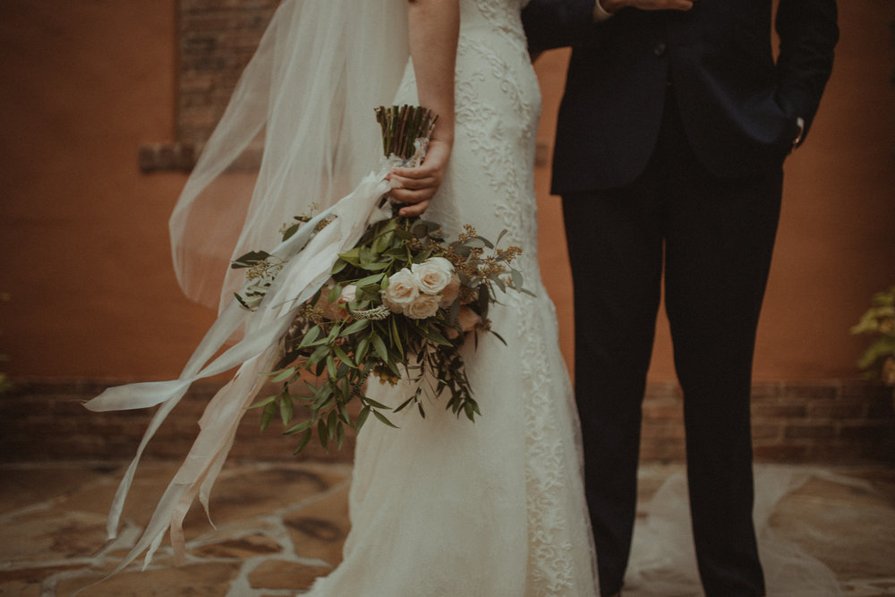 Bridal bouquet by Raining Roses