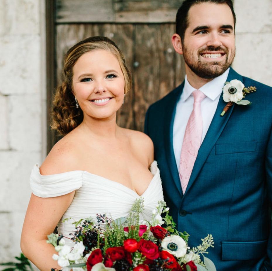 First Congregational Church & Winter Park Farmers Market newlyweds