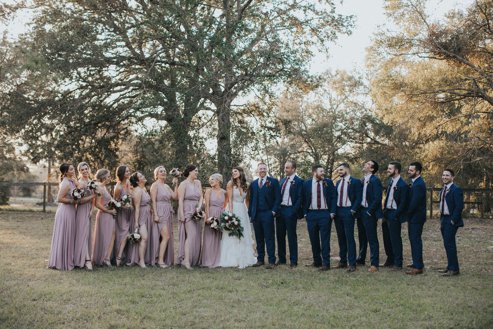 Nancy & Jacob's Wedding Party