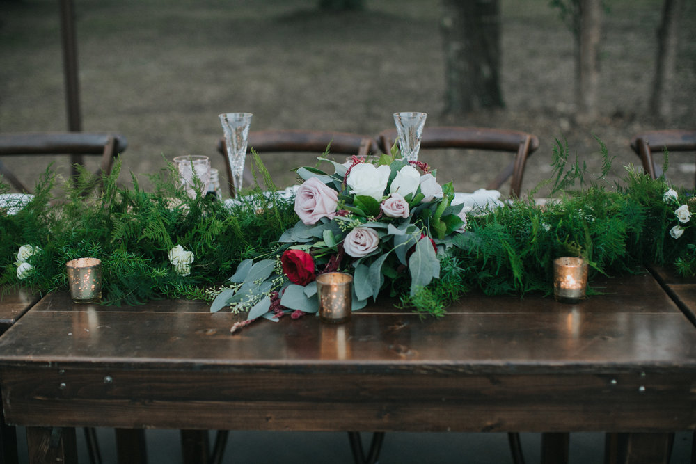 Bridal bouquet of blush and ivory garden roses from Bluegrass Chic Wedding Flowers
