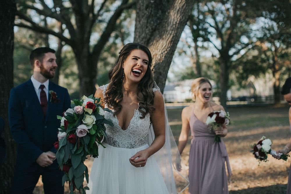 Nancy is a beautiful bride
