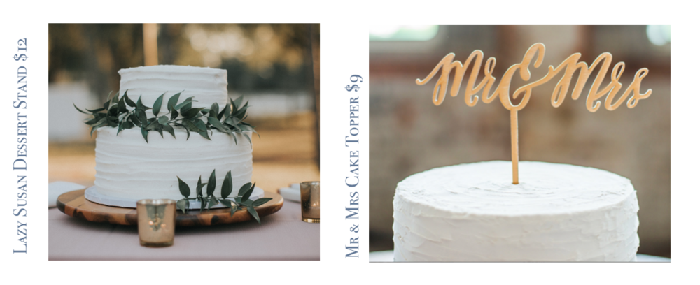 Cake_Lazy susan + Cake %22Mr & Mrs%22.png