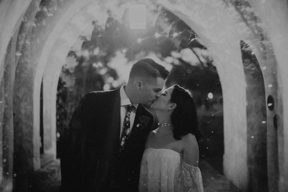 Orlando Wedding Planner Blue Ribbon Weddings  Photography Ardency & Arrow Photography  Wedding Venue: Casa Feliz Winter Park