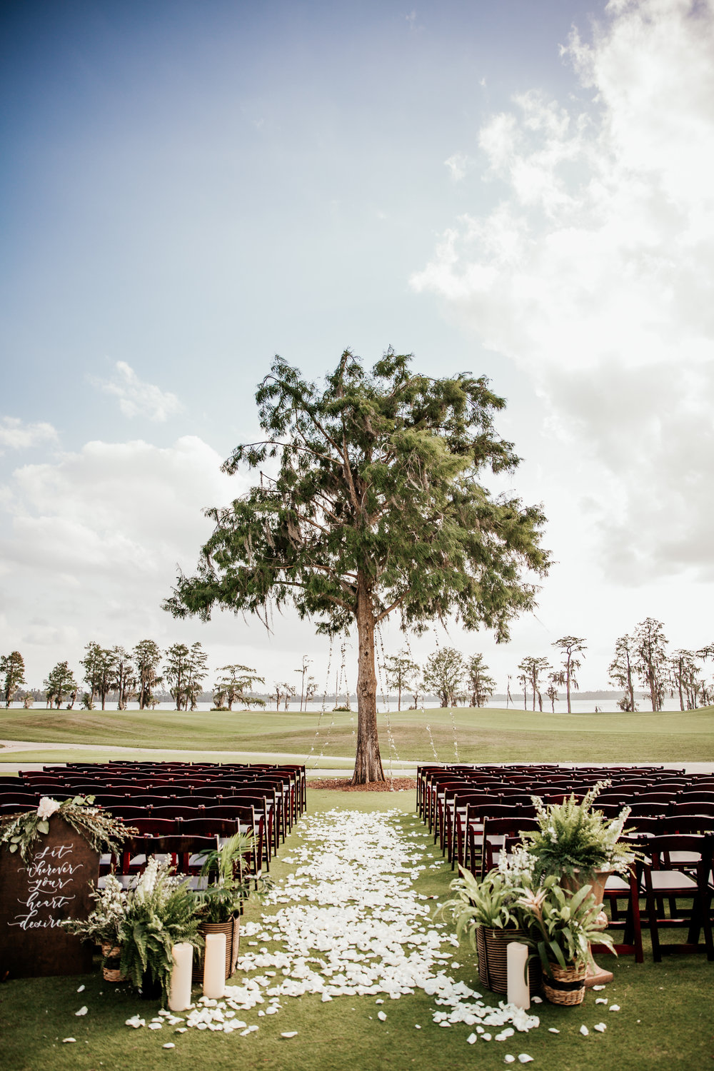 Lake Nona Golf And Country Club Wedding Tree