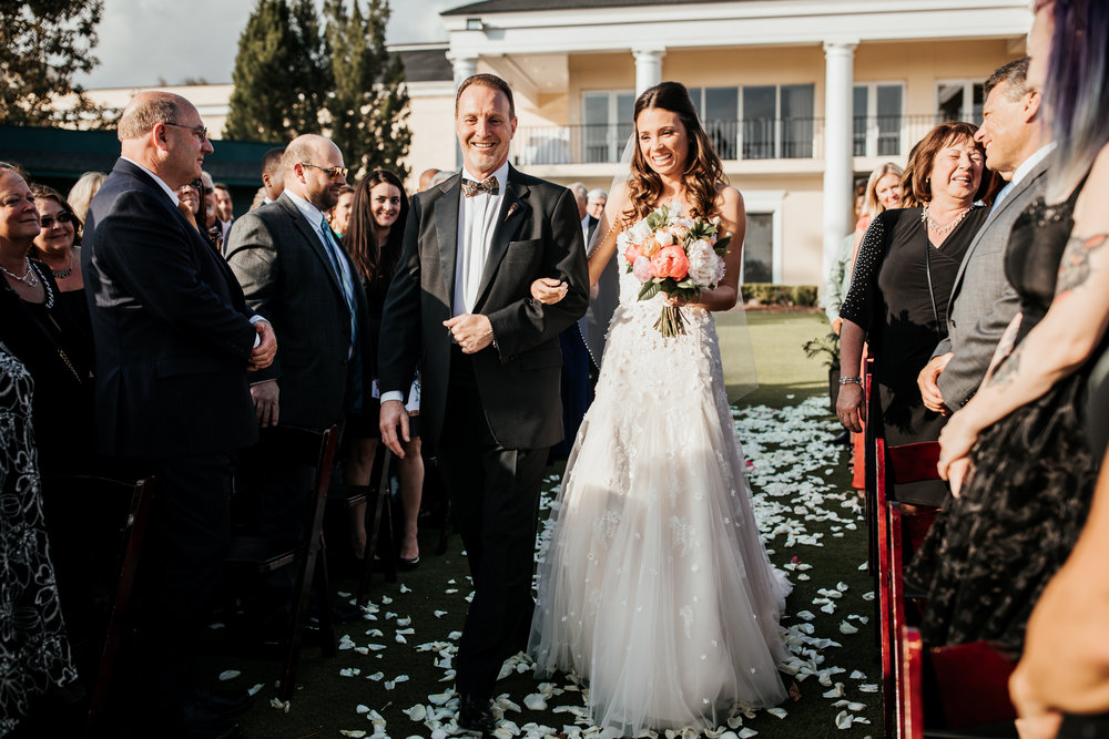 Lake Nona Golf And Country Club Wedding Bride