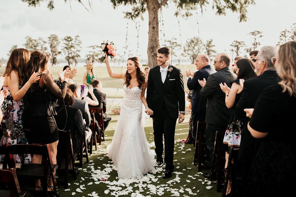 Old Florida Style Wedding in Orlando, Florida  Orlando Wedding Planner Blue Ribbon Weddings  Orlando Wedding Photographer 28 North Photography  Orlando Wedding Florist Bluegrass Chic  Wedding Ceremony & Reception at Lake Nona Golf & Country Club