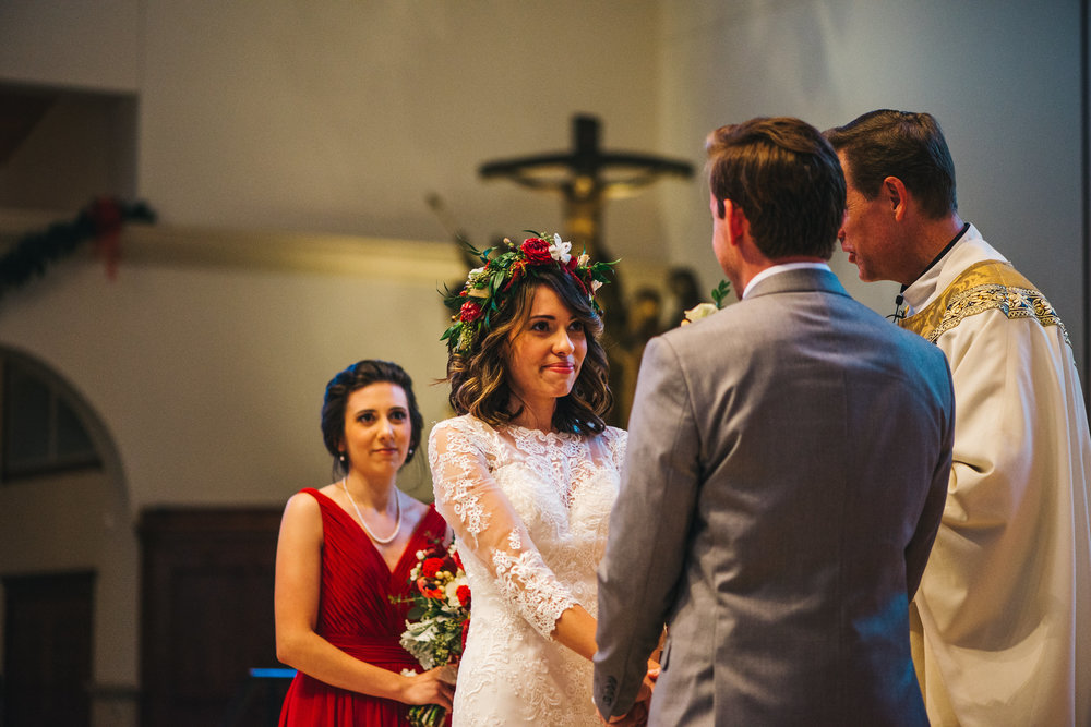 Orlando Wedding Photographer Rudy & Marta  Orlando Wedding Planner Blue Ribbon Weddings  Wedding Ceremony at Annunciation Catholic Church  Orlando Wedding Venue Bramble Tree Estate Sorrento