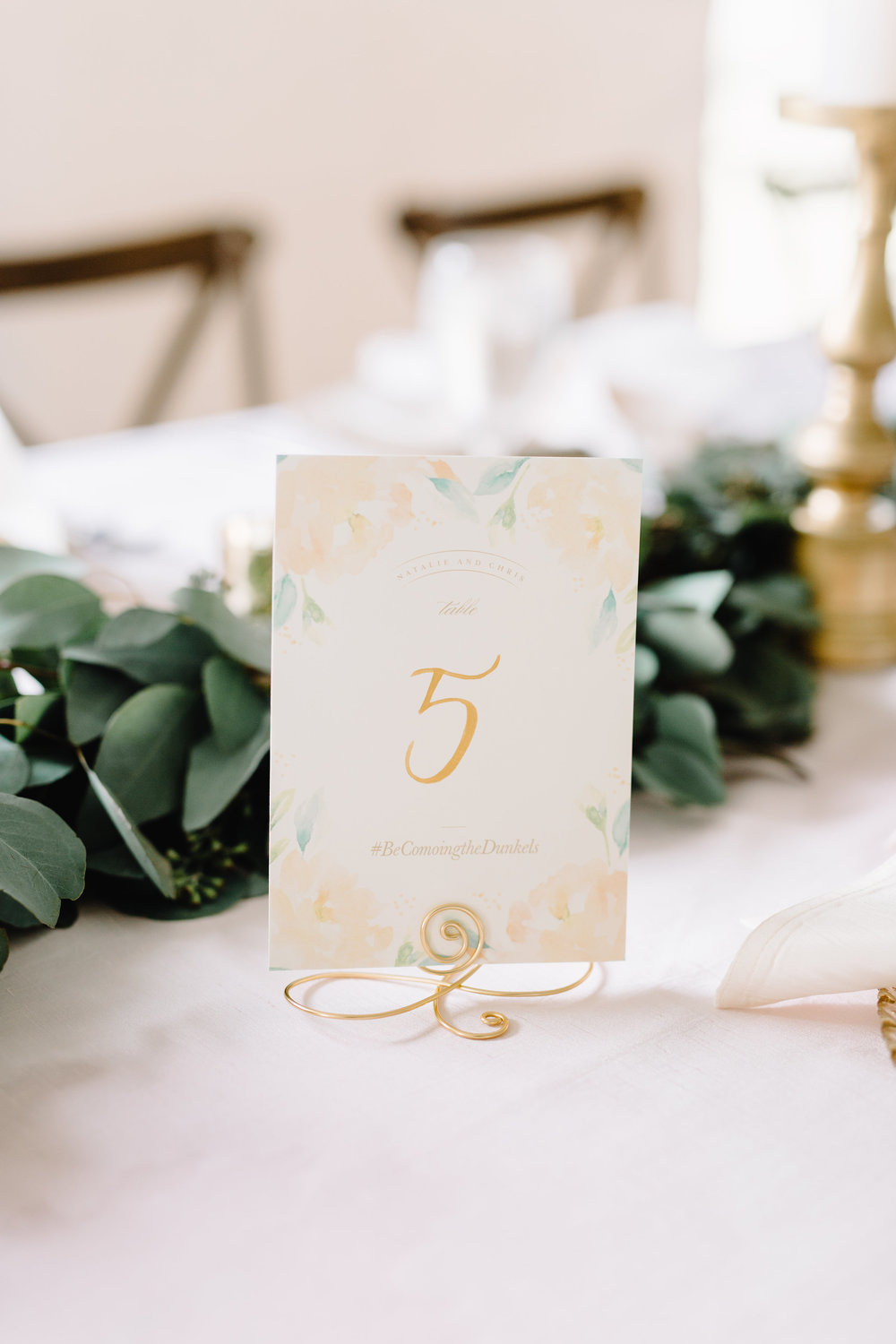 Blush & Gold Wedding with Minted Table Numbers at Cypress Grove Estate House  Orlando Wedding Florist Bluegrass Chic  Orlando Wedding Planner Blue Ribbon Weddings  Orlando Wedding Photographer JP Pratt Photography  Wedding Ceremony at Cypress Grove Estate House  Tented Lakeside Wedding Reception at Cypress Grove Estate House